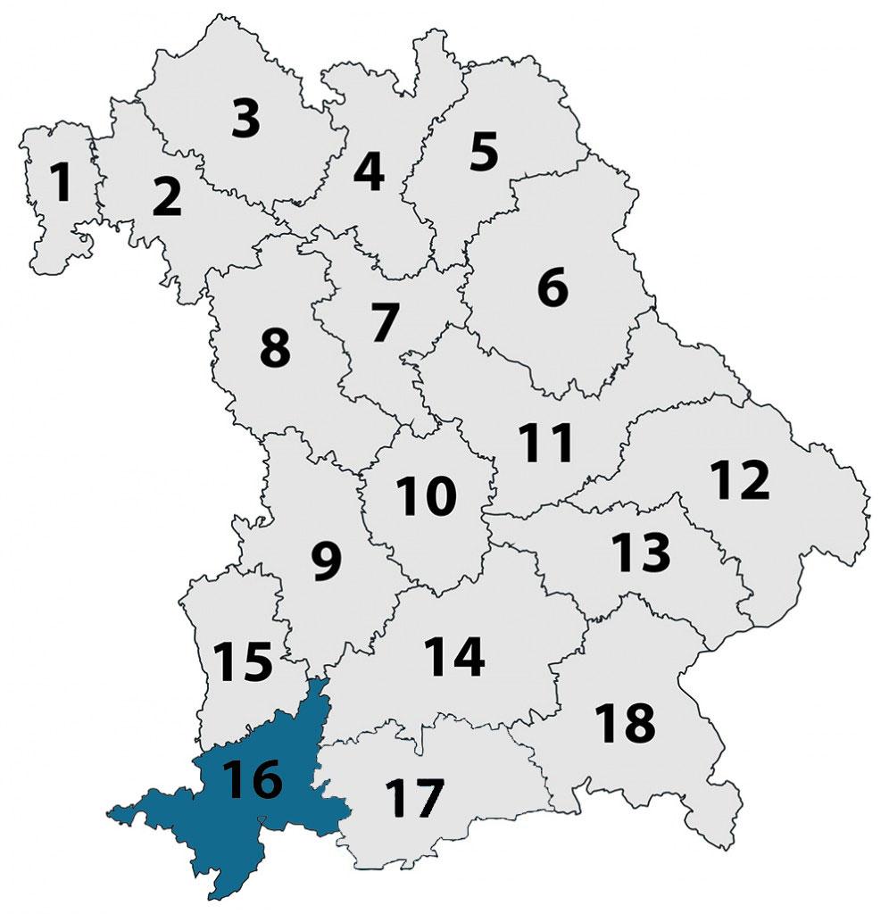 Region16 in Bayern
